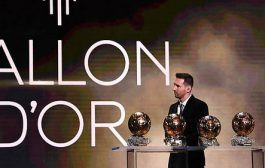 Lionel Messi remporte son 6ème Ballon d'Or