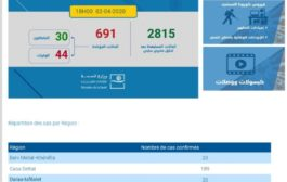 Covid-19 : Le Maroc totalise 691 contaminations